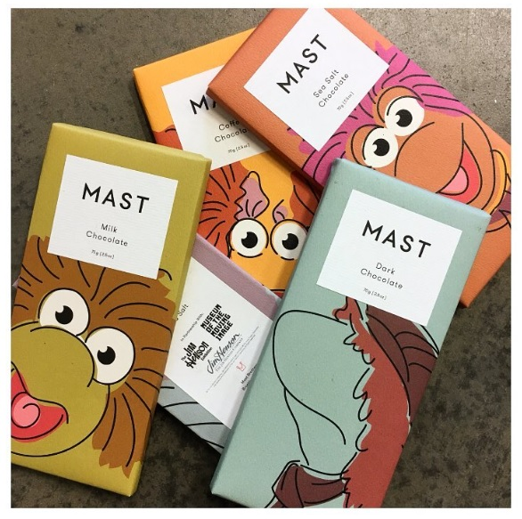 chocolate bar from MAST Brothers featuring The Fraggles.jpg